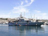 Embarcacion en el puerto de Campello