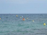 Canoas mar