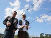 Varias modalidades de pesca