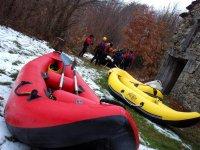 Balsas de rafting para deshielo de Sanabria