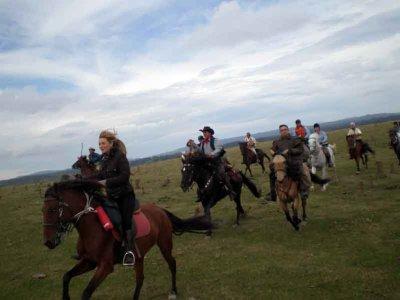 Aventura a caballo de día entero