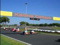 Salida del karting