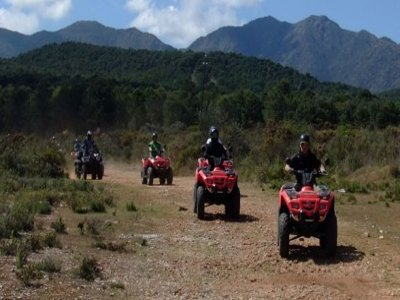 Single Quad tour on Mijas, 2 hours