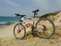 在韦尔瓦的山地自行车