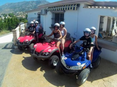 Drive a One-Seater Quad in Mijas, All-Day