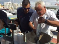 Pesando il pesce