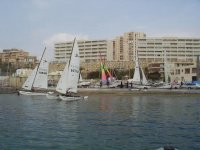 Gruppo di barche a vela