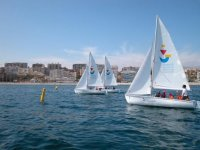 In sailing courses