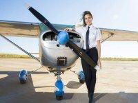 Training of pilots in Madrid