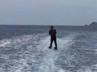 Water skiing in Garrucha