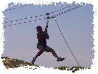 Tirolina aventura