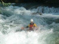 whitewater canoe
