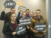 Lizard team in the escape room