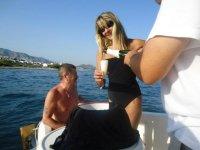 Make a party at sea