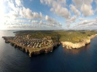 Salgar en Menorca