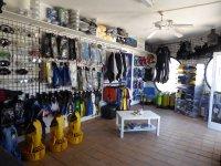 材料店专门的设备和运动服