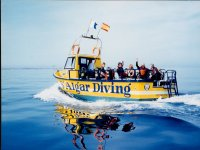 梅诺卡SALGAR潜水的潜水船Salgar