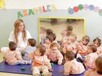 Aulas para niños de 1 y 2 años