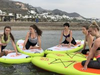 Alumnas de yoga sup