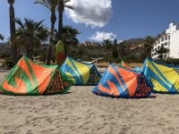 Kite area in Mojacar
