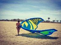 Lecciones de kite en Mojacar