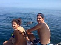 Avistamiento de cetáceos para familias
