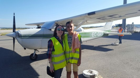 Maribel Peinado Orellana en Real Aero Club de Jerez