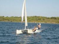 Mini catamaran