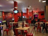 Cafeteria del centro de laser tag