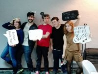 With props for the escape room