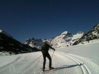 Esquiando en solitario
