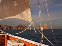 In our sailboat