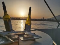Paseo en barco al atardecer en Fuengirola