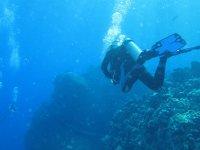 在马洛卡潜水