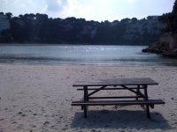 梅诺卡岛的海滩