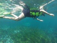 Buceo en aguas poco profundas