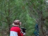 Laser tag en el bosque