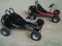 Easy-to-drive all-terrain motor karts