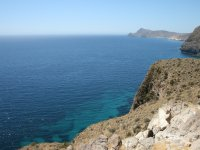 Coastline in Cabo de Gata