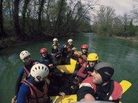 Rafting para la despedida en Navarra