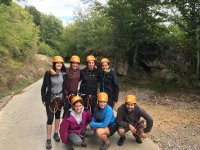 Salida para escalar en grupo