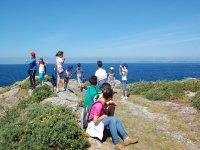 Viendo el mar en Galicia
