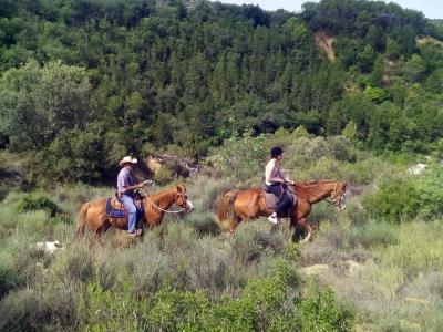 Ruta a caballo en Bierge 2 horas