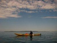 Riposando nel kayak