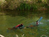 在Alto Tajo练习浮潜