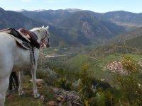Vistas de Arseguel a caballo