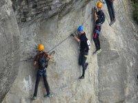 Aseguramiento escalada deportiva
