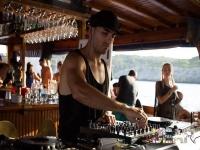 Live DJ on board Mallorca