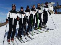 Preparados para una ruta de esquí de fondo