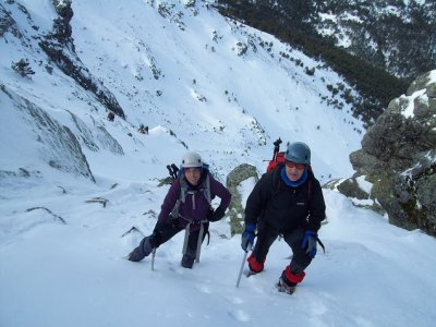 Sendero Vertical Raquetas de Nieve